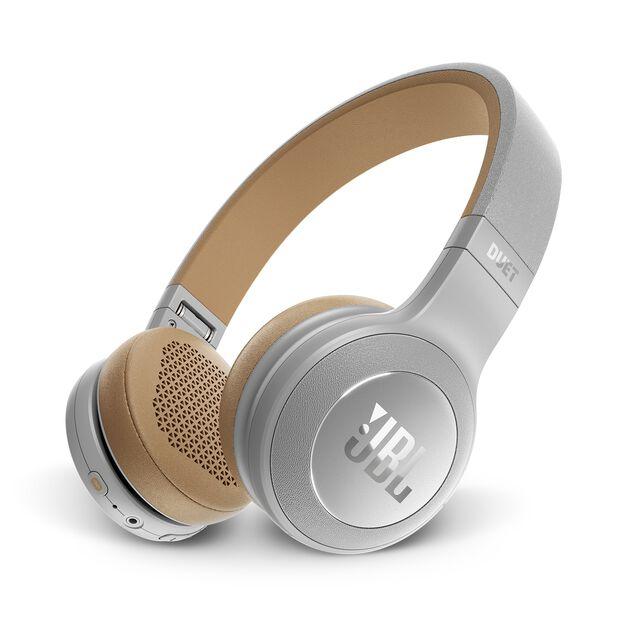 JBL Duet BT - Grey - Wireless on-ear headphones - Hero