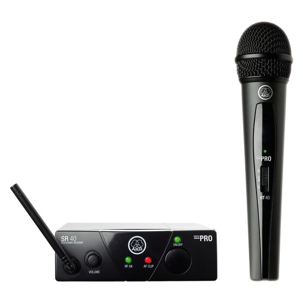 WMS40 Mini Vocal Set Band-US25-A - Black - Wireless microphone system - Hero