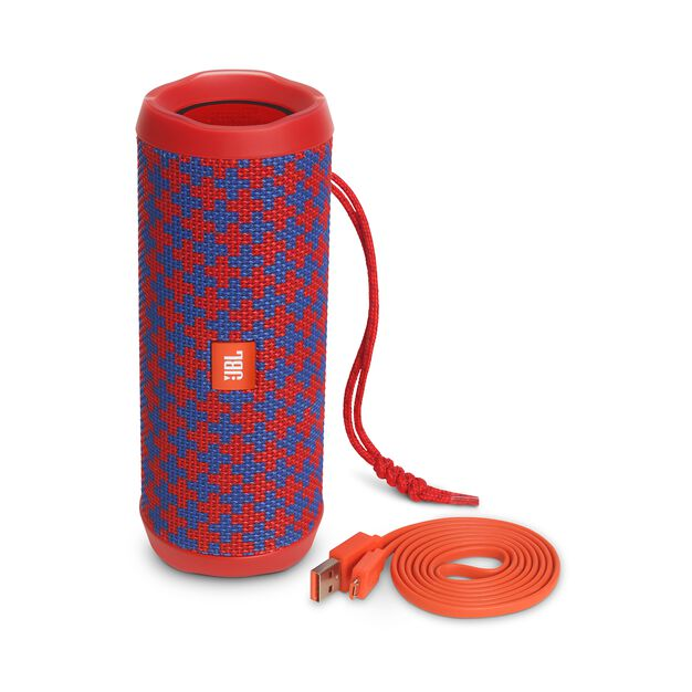 JBL Flip 4 Special Edition - Malta - A full-featured waterproof portable Bluetooth speaker with surprisingly powerful sound. - Detailshot 4