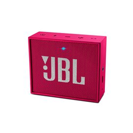 JBL GO - Pink - Full-featured, great-sounding, great-value portable speaker - Hero