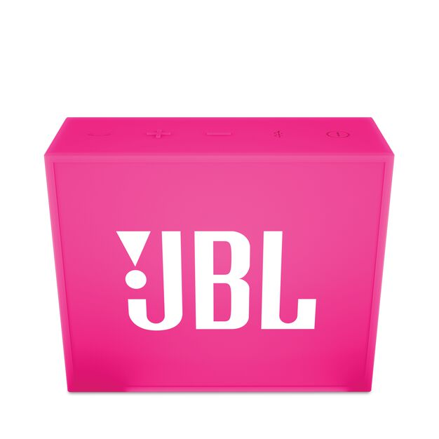 JBL GO - Pink - Full-featured, great-sounding, great-value portable speaker - Front