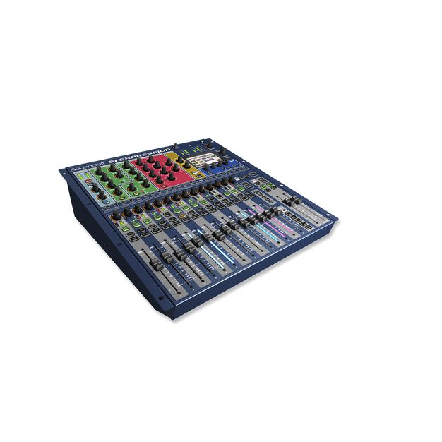 Si Expression 1 - Blue - Powerful cost effective digital console - Hero