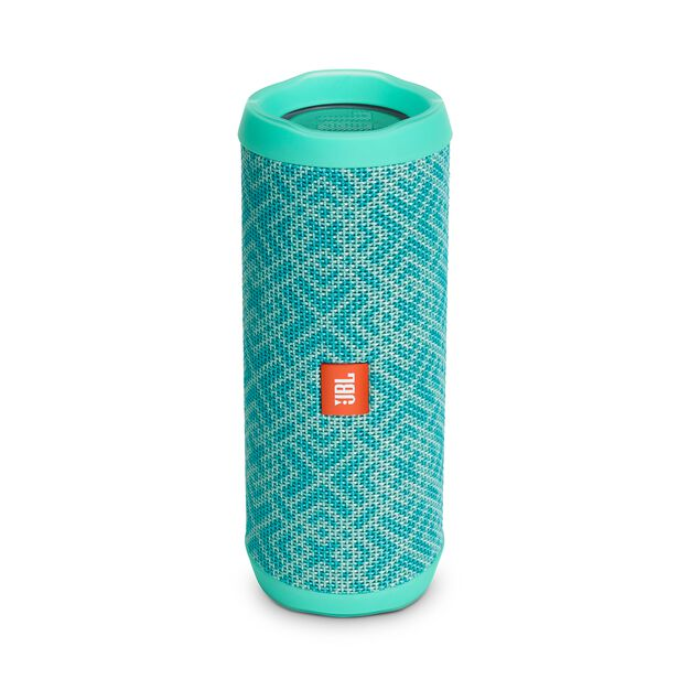 JBL Flip 4 Special Edition - Mosaic - A full-featured waterproof portable Bluetooth speaker with surprisingly powerful sound. - Hero