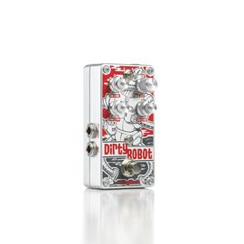 Dirty Robot - Red - Stereo Mini-Synth Pedal - Hero
