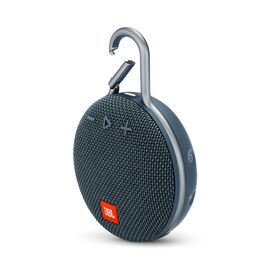 JBL CLIP 3 - Ocean Blue - Portable Bluetooth® speaker - Hero