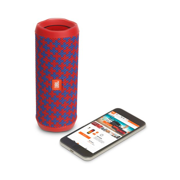 JBL Flip 4 Special Edition - Malta - A full-featured waterproof portable Bluetooth speaker with surprisingly powerful sound. - Detailshot 2