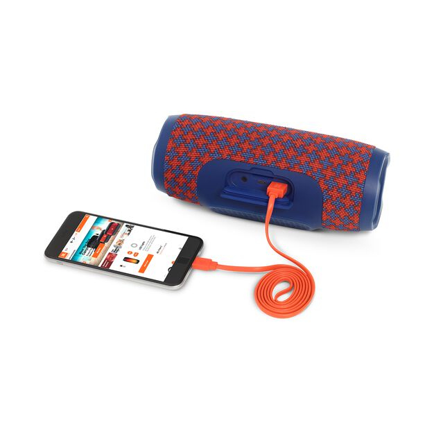 JBL Charge 3 Special Edition - Malta - Full-featured waterproof portable speaker with high-capacity battery to charge your devices - Detailshot 1