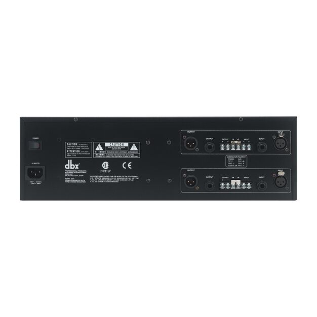 2231 - Black - Graphic Equalizer/Limiter with Type III™ NR - Back