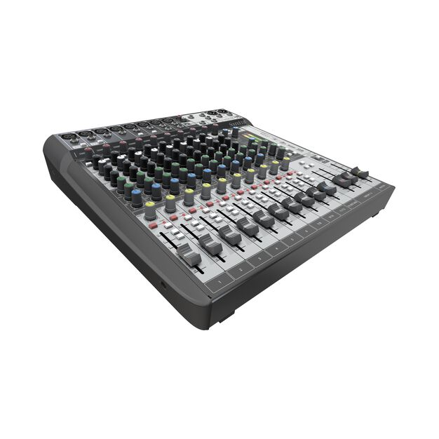 Signature 12 MTK - Black - 12-input analogue mixer with onboard effects and multi-track USB recording and playback - Detailshot 2