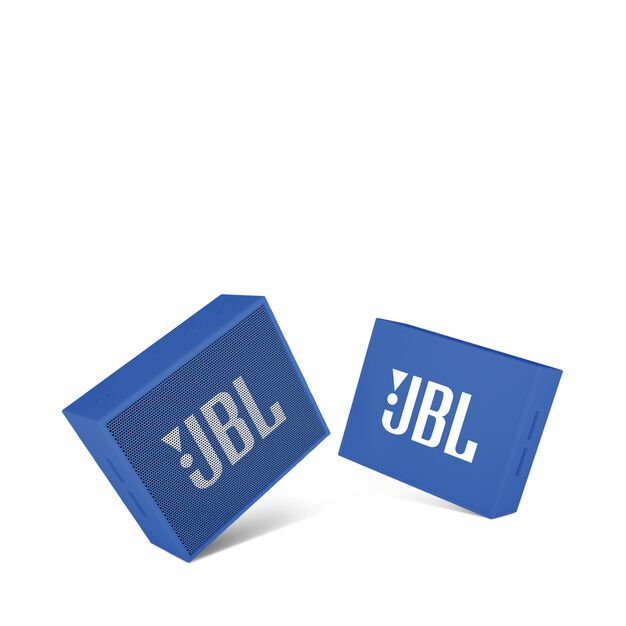 JBL GO - Blue - Full-featured, great-sounding, great-value portable speaker - Detailshot 1