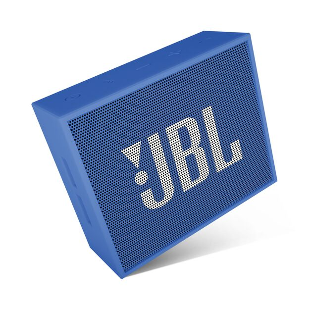 JBL GO - Blue - Full-featured, great-sounding, great-value portable speaker - Detailshot 3