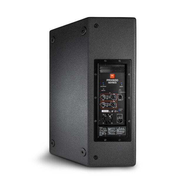 "JBL PRX815 - Black - 15"" Two-Way Full-Range Main System/Floor Monitor with Wi-Fi - Back"