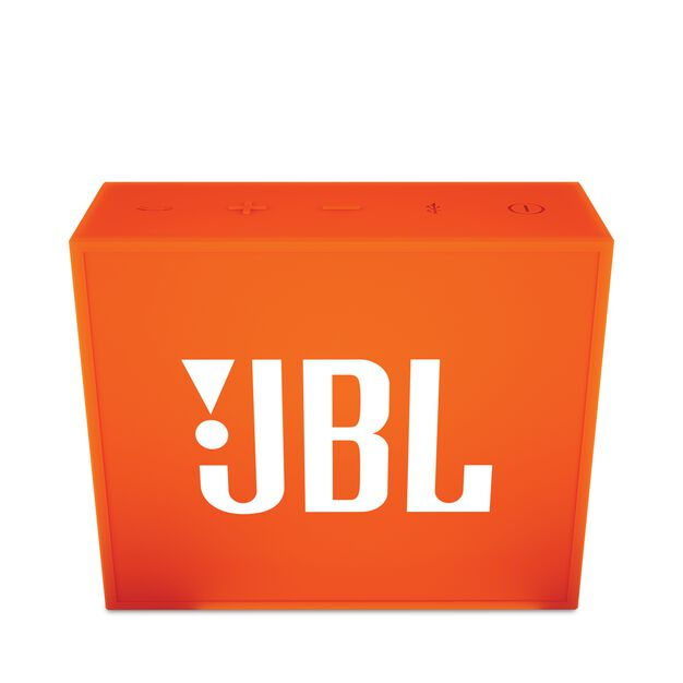 JBL GO - Orange - Full-featured, great-sounding, great-value portable speaker - Front