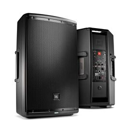 "JBL EON615 - Black - 15"" Two-Way Multipurpose Self-Powered Sound Reinforcement - Hero"