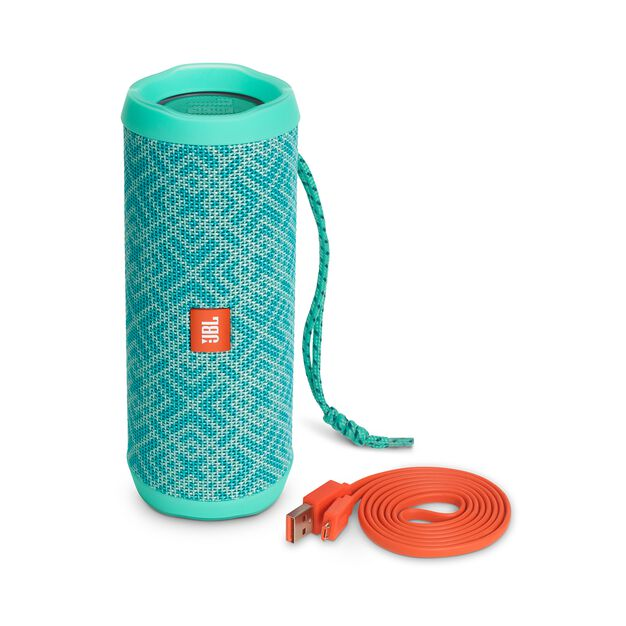 JBL Flip 4 Special Edition - Mosaic - A full-featured waterproof portable Bluetooth speaker with surprisingly powerful sound. - Detailshot 4