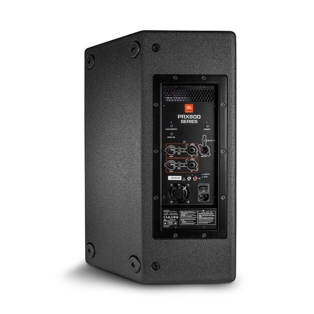 """JBL PRX812 - Black - 12"""" Two-Way Full-Range Main System/Floor Monitor with Wi-Fi - Back"""