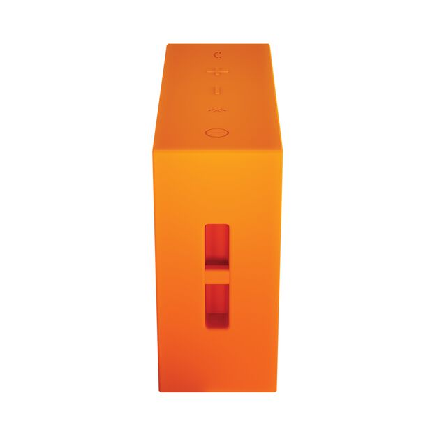 JBL GO - Orange - Full-featured, great-sounding, great-value portable speaker - Detailshot 2