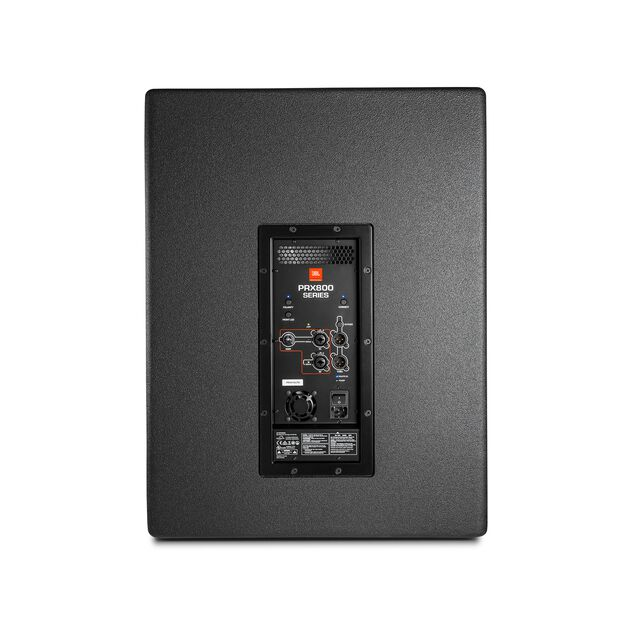 """JBL PRX818XLF - Black - 18"""" Self-Powered Extended Low Frequency Subwoofer System with Wi-Fi - Back"""