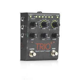 TRIO+ - Black - Band Creator + Looper - Hero