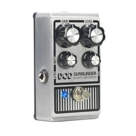 Gunslinger - Silver - Mosfet Distortion Pedal - Hero