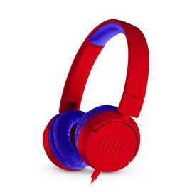 JBL JR300 - Spider Red - Kids on-ear Headphones - Hero