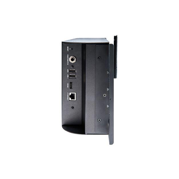 Ui16 - Black - 16-input remote-controlled digital mixer - Left