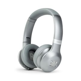 JBL EVEREST™ 310 - Silver - Wireless On-ear headphones - Hero