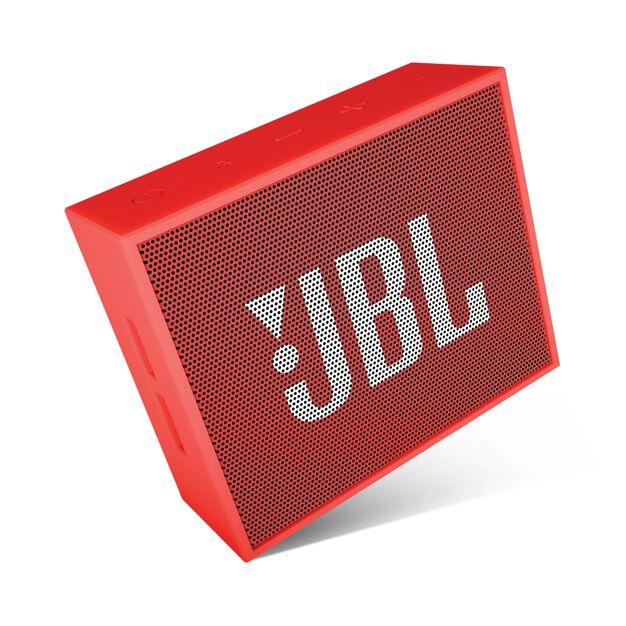 JBL GO - Red - Full-featured, great-sounding, great-value portable speaker - Detailshot 3