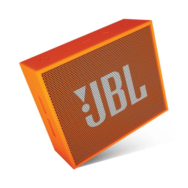 JBL GO - Orange - Full-featured, great-sounding, great-value portable speaker - Detailshot 3