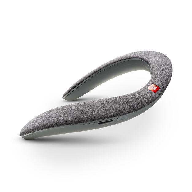 JBL SOUNDGEAR - Grey - Wearable wireless sound - Hero