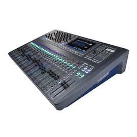 SI Impact - Black - 40-input Digital Mixing Console and 32-in/32-out USB Interface and iPad Control - Hero