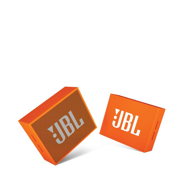 JBL GO - Orange - Full-featured, great-sounding, great-value portable speaker - Detailshot 1