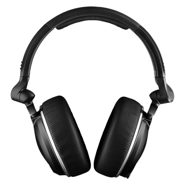 K182 - Black - Professional closed-back monitor headphones - Front