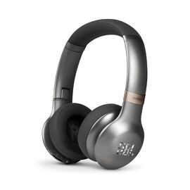 JBL EVEREST™ 310 - Gun Metal - Wireless On-ear headphones - Hero