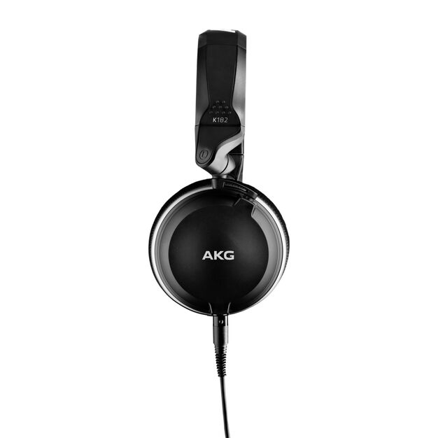 K182 - Black - Professional closed-back monitor headphones - Left
