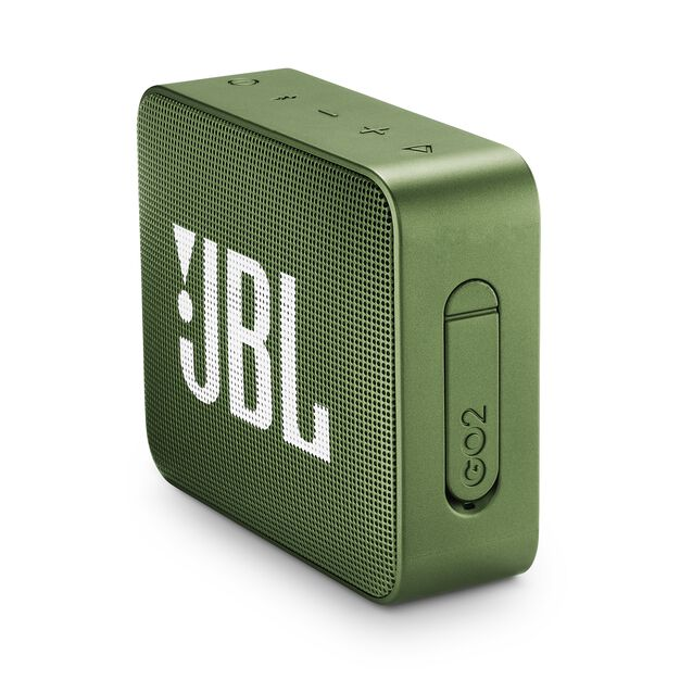 JBL GO 2 - Moss Green - Portable Bluetooth speaker - Detailshot 2