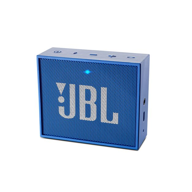 JBL GO - Blue - Full-featured, great-sounding, great-value portable speaker - Hero